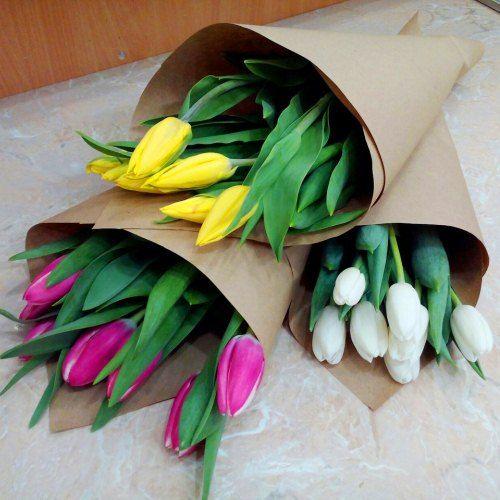 № 625 букет тюльпанов