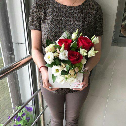 №80 конвертик с розами