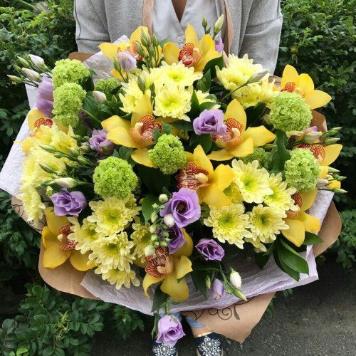 №333 букет с орхидеями