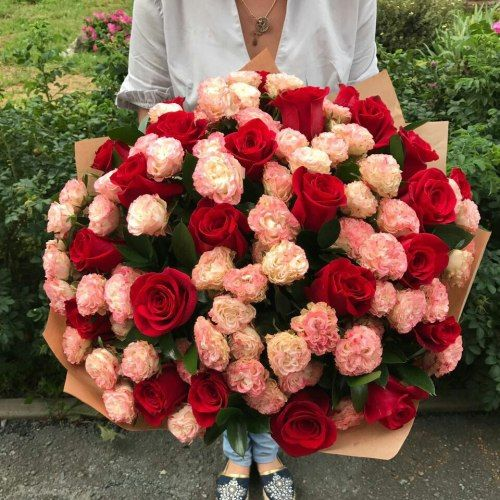 №339 букет роз