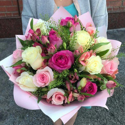 №354 букет из роз