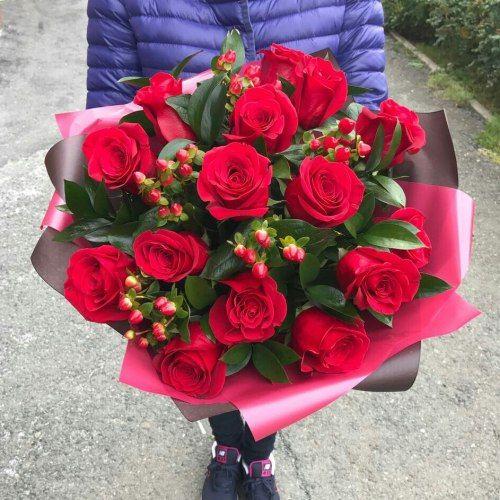 №401 букет из роз