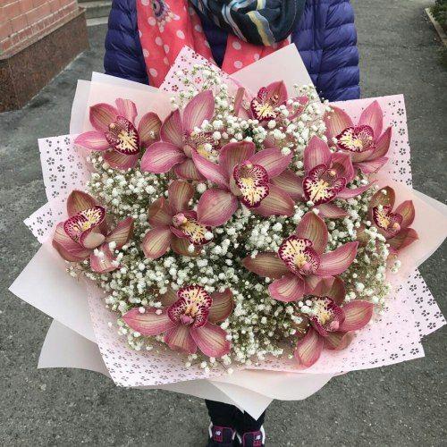 №402 букет из орхидей