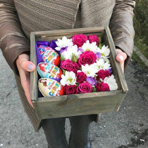 № 0413 коробочка с киндер-сюрприз