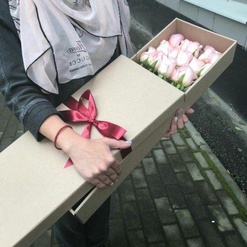 № 0415 розы в коробке