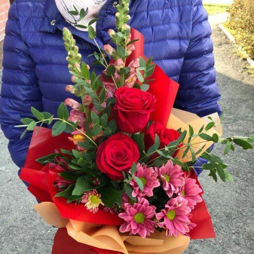 № 431 букет с розами