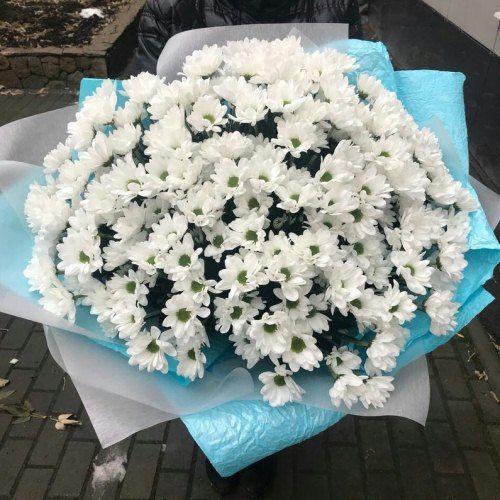 № 458 букет из хризантем