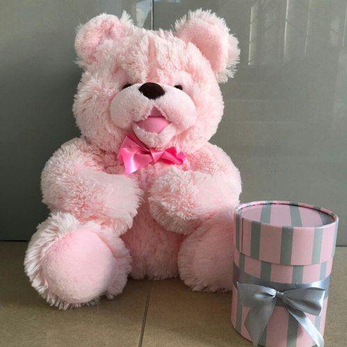 № 4 мишка розовый