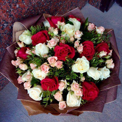 №101 букет из роз
