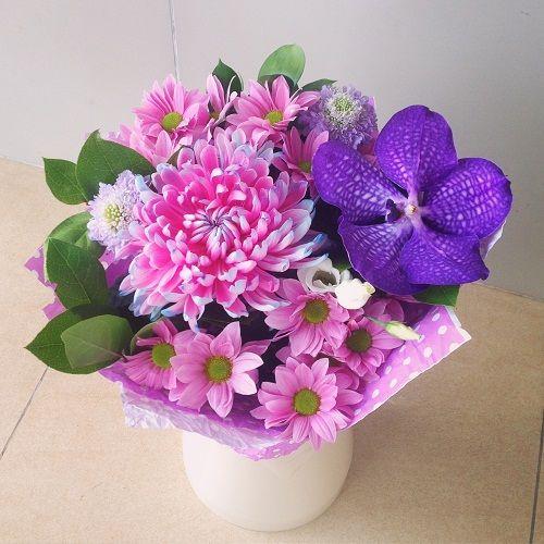№55 букет с орхидеей