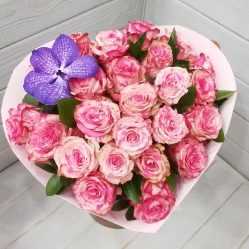 № 353 букет из роз