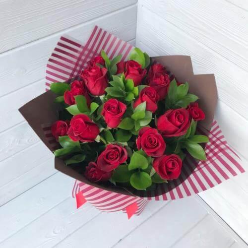 № 209 букет из роз