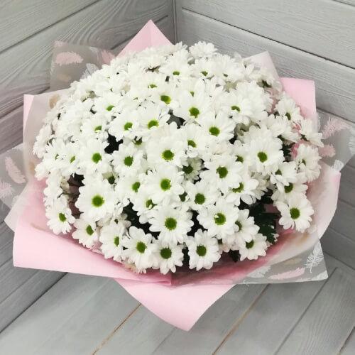№ 210 букет из кустовых хризантем