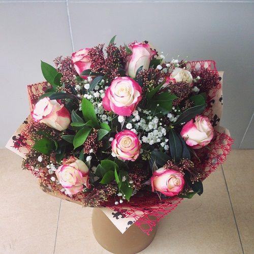 №18 букет из роз
