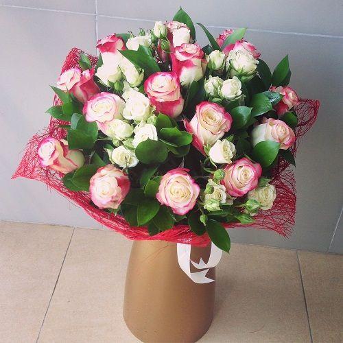 №62 букет с розами