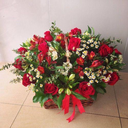 №126 корзина цветов