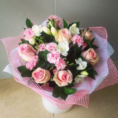 №81 букет с розой