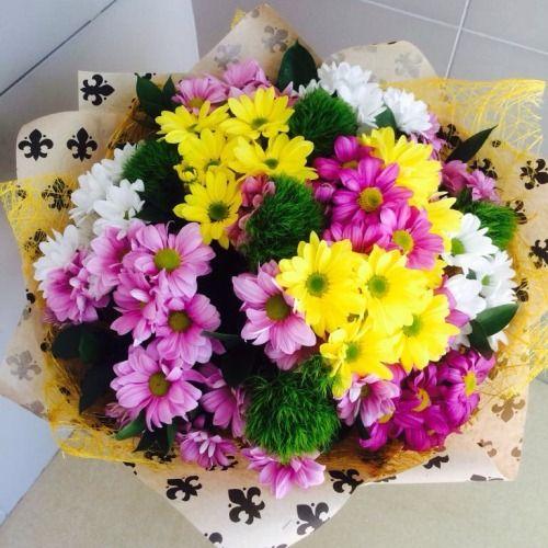 №93 букет с хризантемой