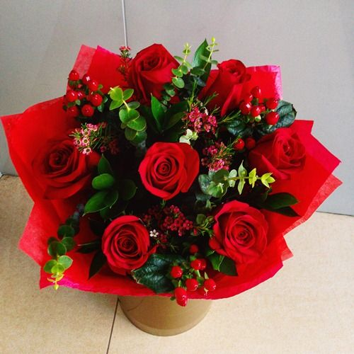 №17 букет из роз