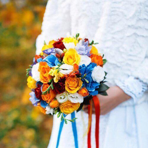 №001 букет невесты