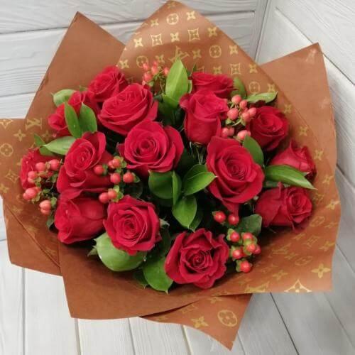 № 168 букет из роз