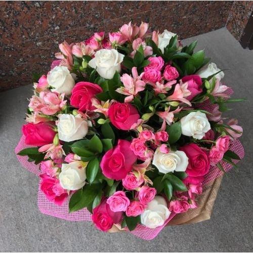 №249 букет из роз