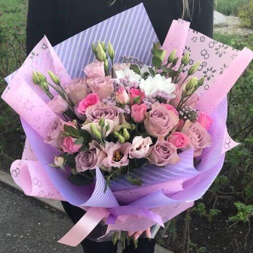 № 0450 букет роз