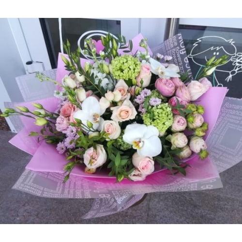 № 410 букет с орхидеями