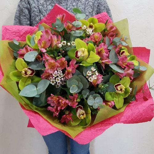 № 499 букет с орхидеями