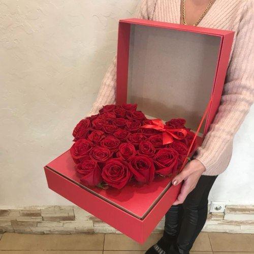 № 506 композиция сердце в коробке
