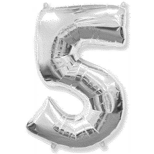 """№ 329 воздушные шары """"цифры"""""""